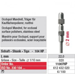 Mandrin pour Occlupol - 11007HP