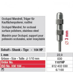 Mandrin pour Occlupol - 1107HP