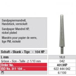 Mandrin pour papier de verre - 4013HP
