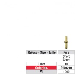 Pins de duplication avec manchette - PIN0210