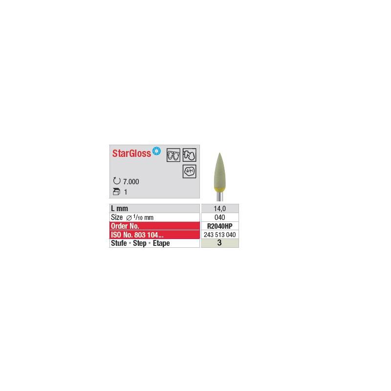 StarGloss - Etape 3 - R2040HP
