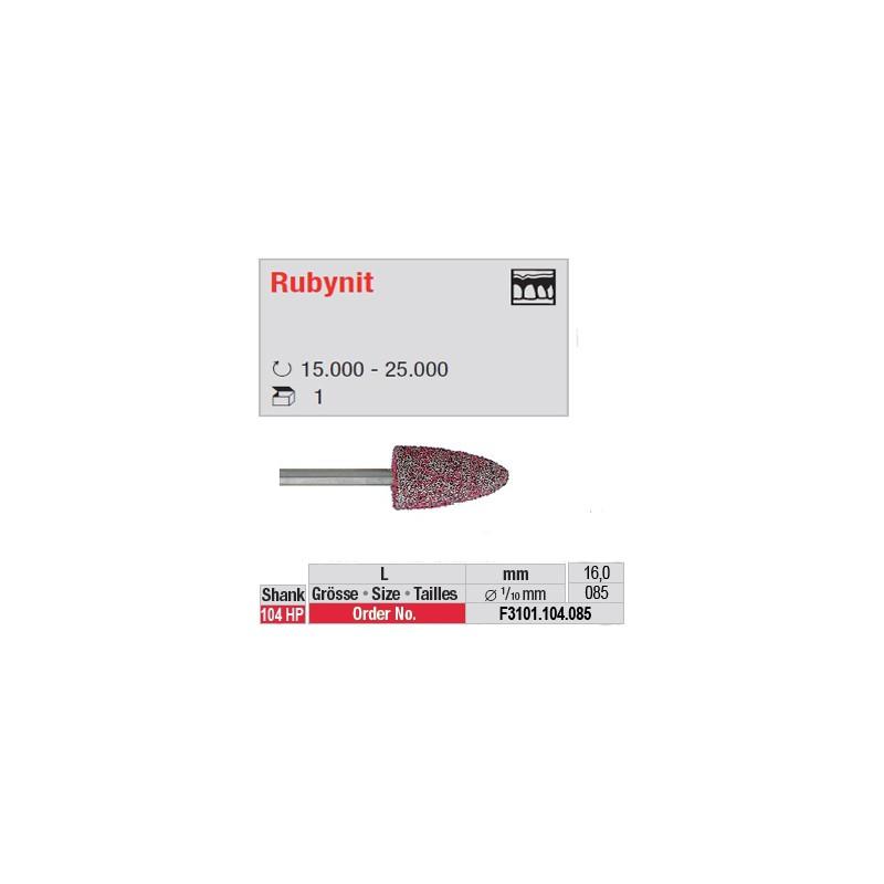 Fraise Rubynit flamme (grain fin) - F3101.104.085