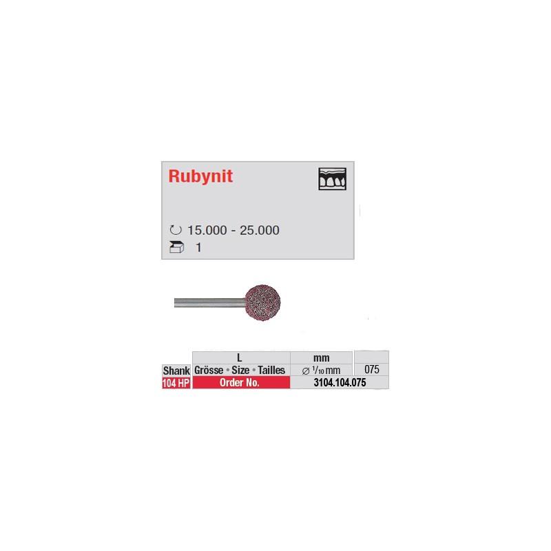 Fraise Rubynit boule - 3104.104.075