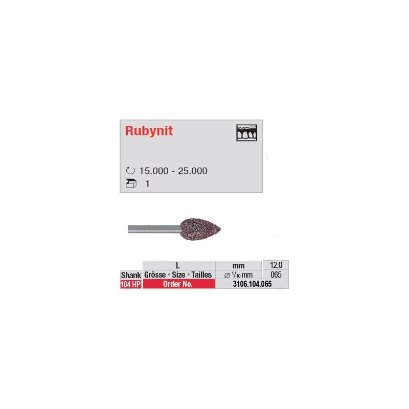 Fraise Rubynit bouton - 3106.104.065
