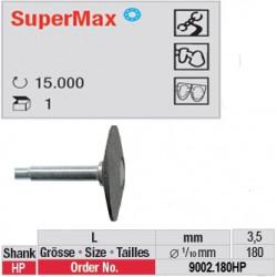 Fraise SuperMax lentille - 9002.180HP