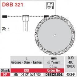 Disque diamanté dans la masse (surface marginale) - DSB321.524.400HP