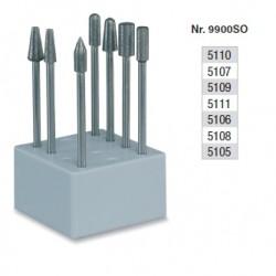 Set de fraisage diamantés dans la masse - 9900SO