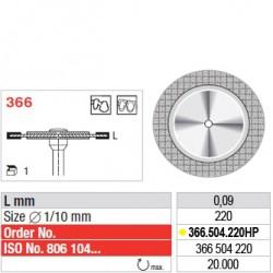 Disque diamanté ULTRAFLEX (extra-fin) - 366.504.220HP