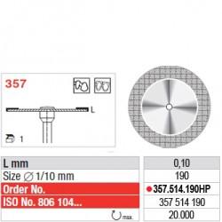 Disque diamanté SUPERFLEX (actif supérieur) - 357.514.190HP
