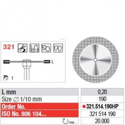 Disque diamanté FLEX (fin) - 321.514.190HP