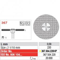 Disque diamanté ULTRAFLEX (extra-fin) - 367.504.220HP