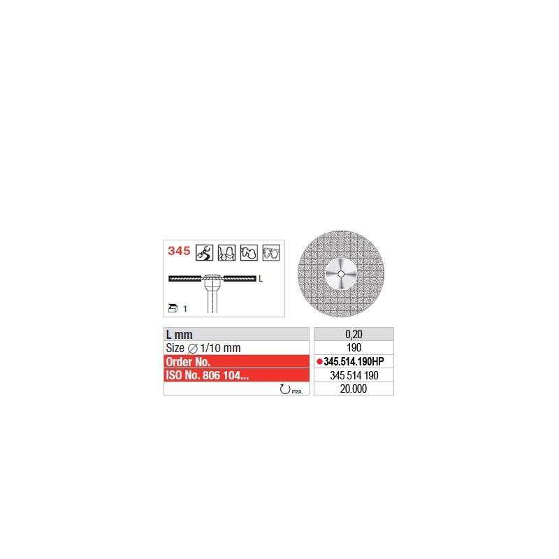 Disque diamanté FLEX (fin) - 345.514.190HP