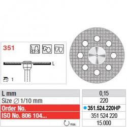 Disque diamanté SUPERFLEX (actif inférieur) - 351.524.220HP