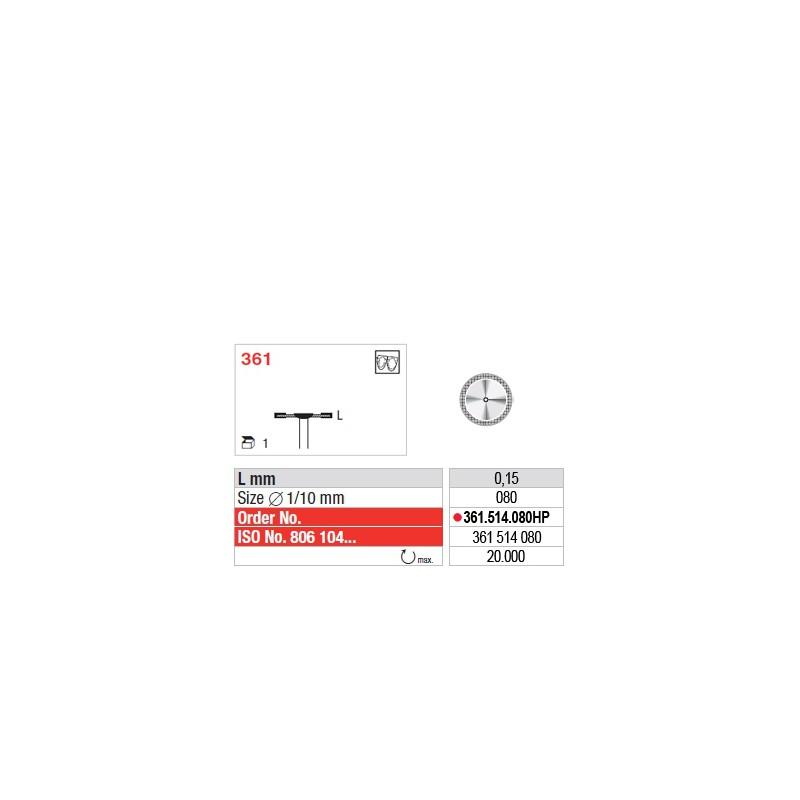 Disque diamanté SUPERFLEX (fin) - 361.514.080HP