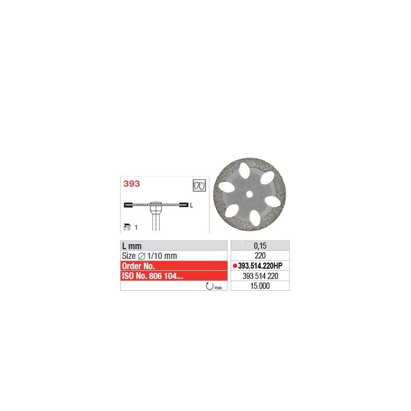 Disque diamanté SUPERFLEX (fin) - 393.514.220HP