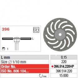 Disque diamanté SUPERFLEX (fin) - 396.514.220HP