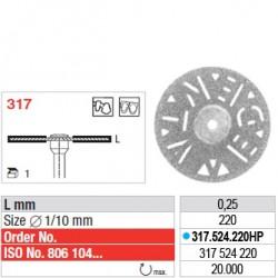 Disque diamanté SUPERFLEX - 317.524.220HP