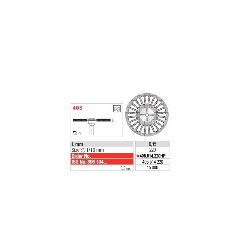 Disque diamanté SUPERFLEX (fin) - 405.514.220HP