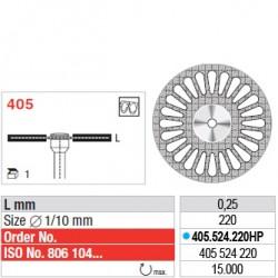 Disque diamanté SUPERFLEX - 405.524.220HP