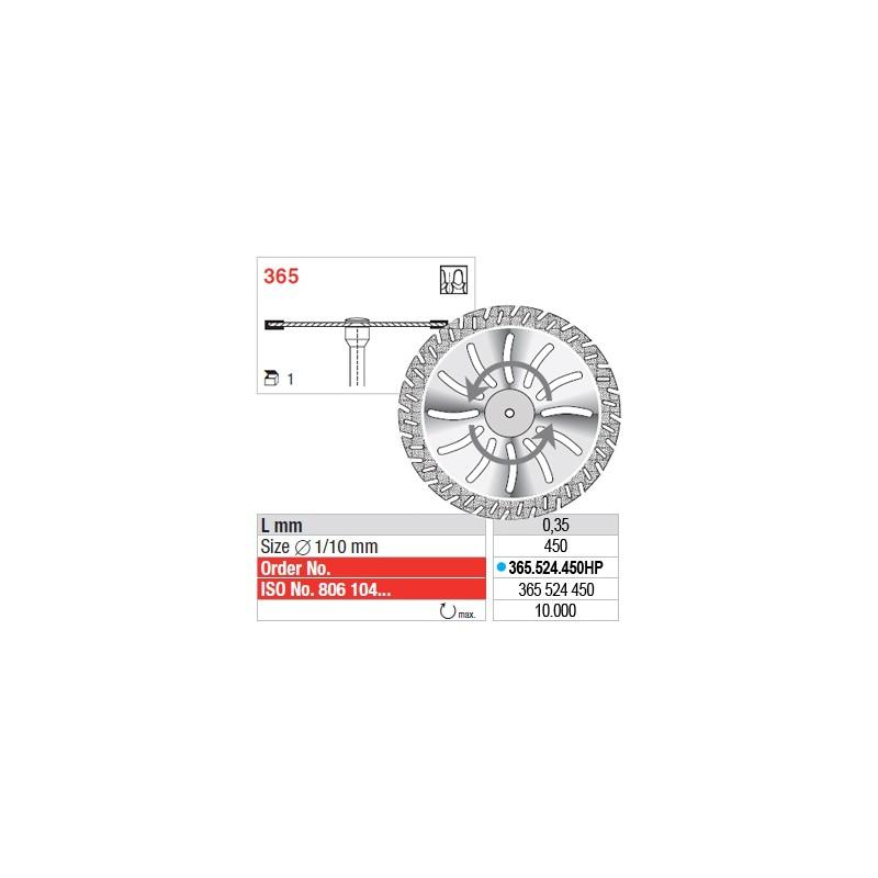 Disque diamanté SUPERFLEX - 365.524.450HP