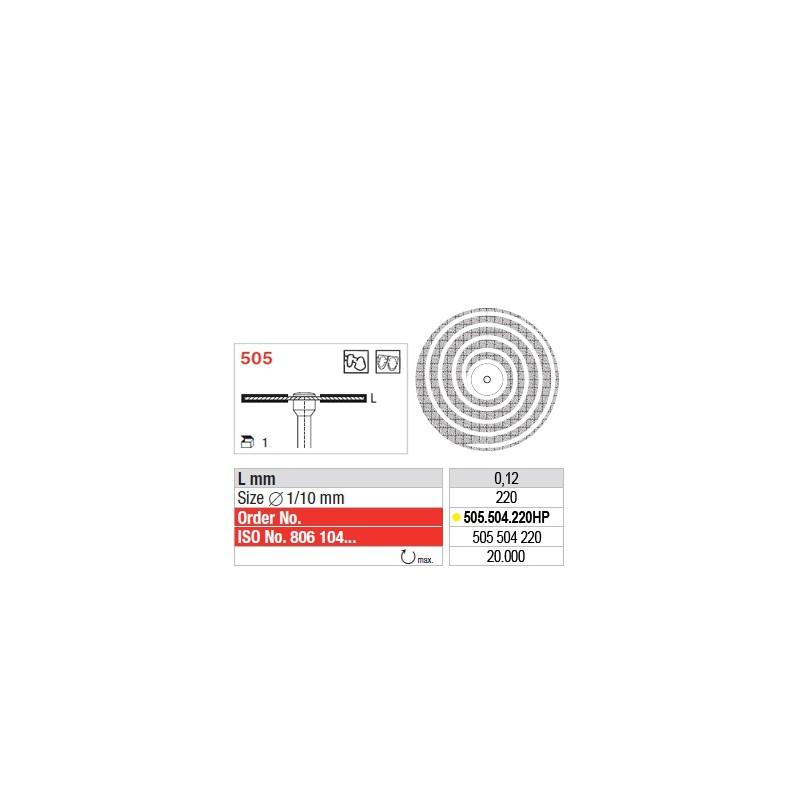 Disque diamanté SUPERFLEX Turbo (extra-fin) - 505.504.220HP