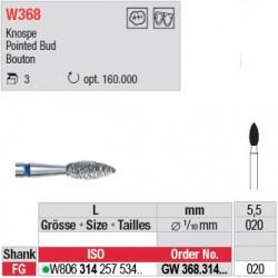 Diamant WhiteTIGER bouton (gros grain) - GW368.314.020