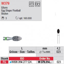 Diamant WhiteTIGER œuf - W379.314.023