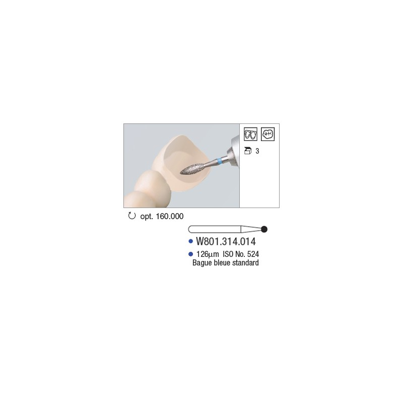 Diamant WhiteTiger - W801.314.014