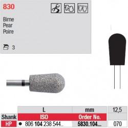 Diamant PM poire (très gros grain) - 5830.104.070