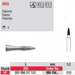 Diamant PM flamme - 860.104.016