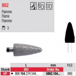 Diamant PM flamme (très gros grain) - 5862.104.060