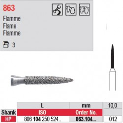 Diamant PM flamme - 863.104.012