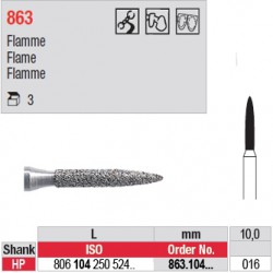 Diamant PM flamme - 863.104.016