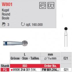 Diamant WhiteTIGER boule (grain fin) - FW801.314.021