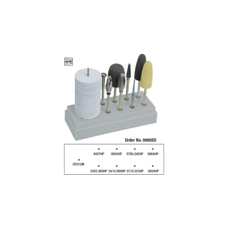 Orthodontic Burs Starter Kit - 0080SO