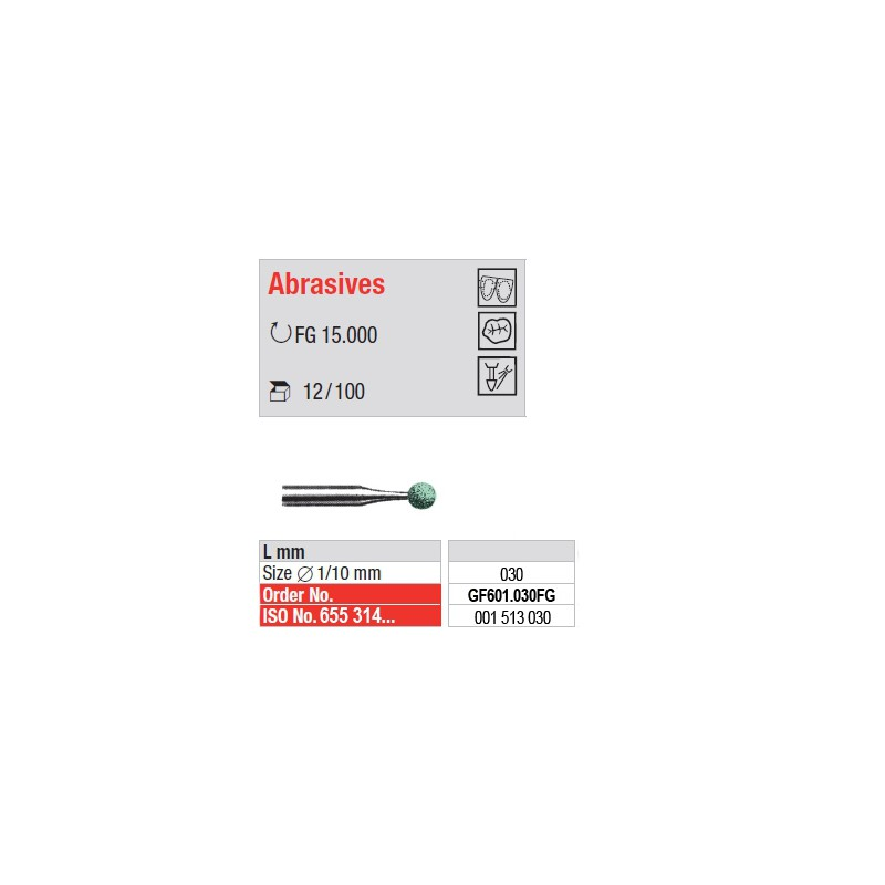 Abrasives - GF601.030FG