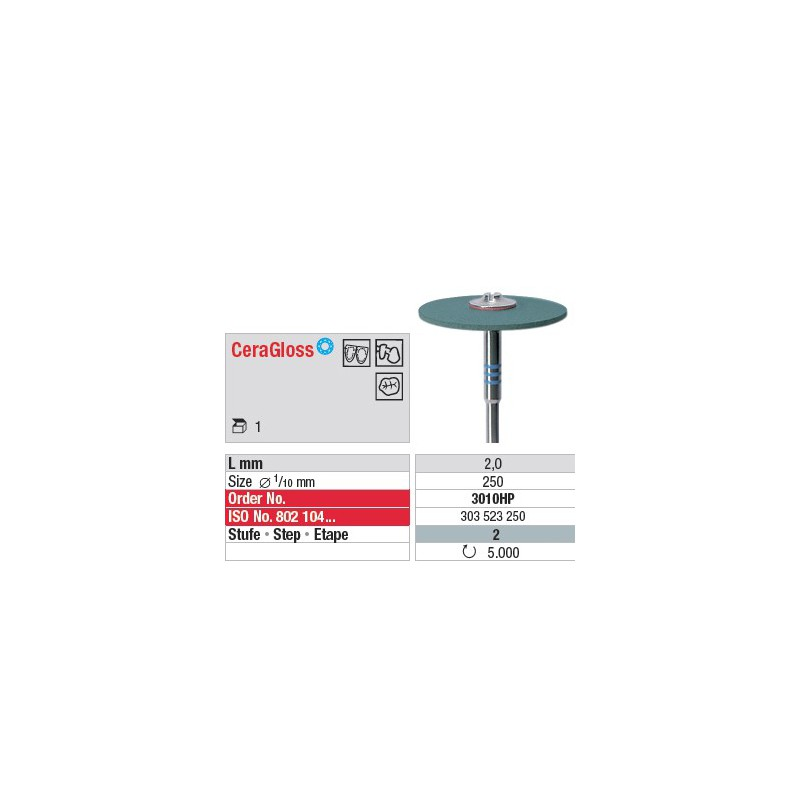 CeraGloss - Etape 2 - 3010HP