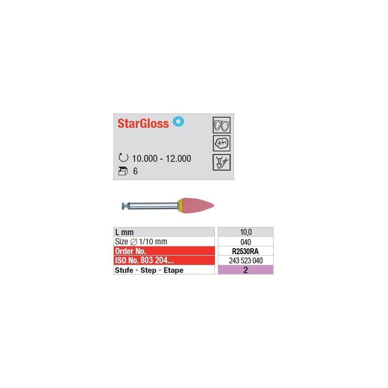 StarGloss - étape 2 - R2530RA