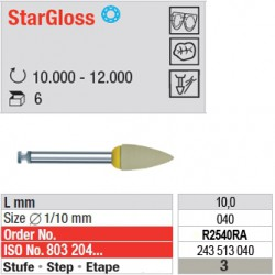 StarGloss - étape 3 - R2540RA