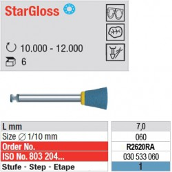 StarGloss - étape 1 - R2620RA