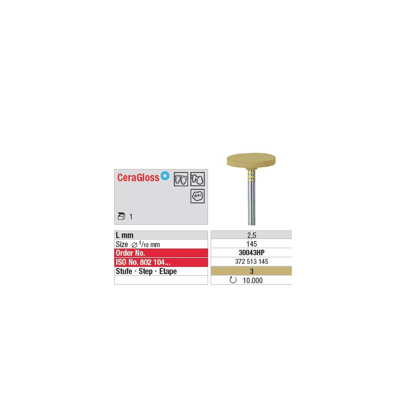 CeraGloss - Etape 3 - 30043HP