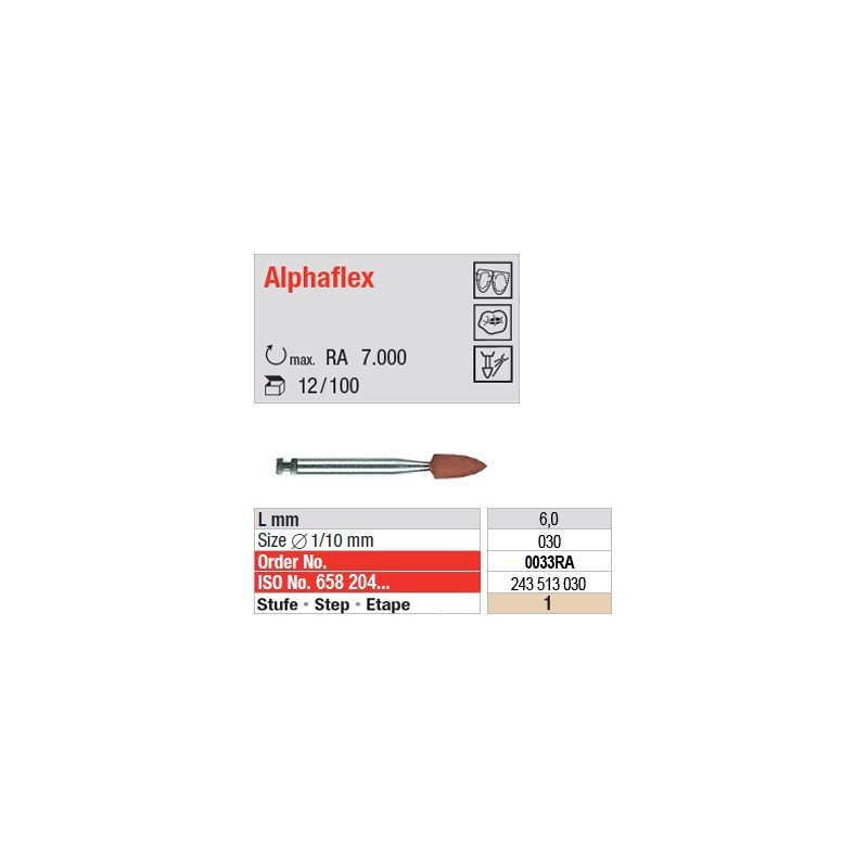 Alphaflex - étape 1 - 0033RA