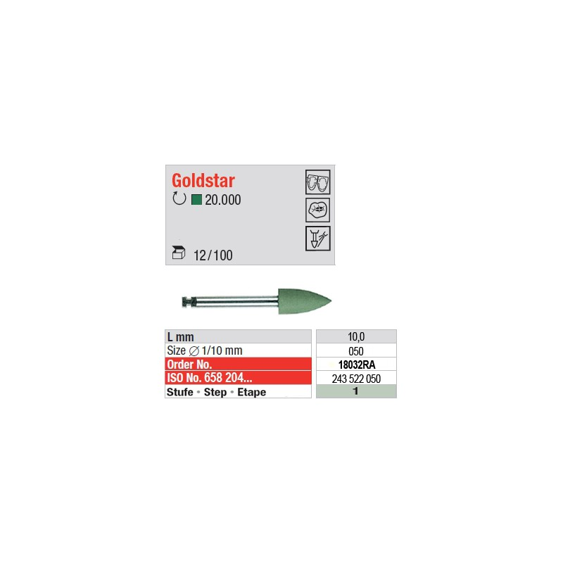 Goldstar - étape 1 - 18032RA