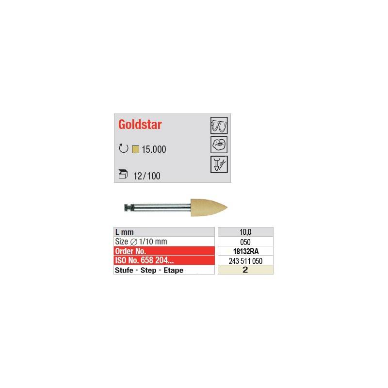 Goldstar - étape 2 - 18132RA