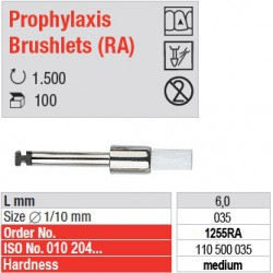 Prophylaxis Brushlets (RA) - medium - 1255RA