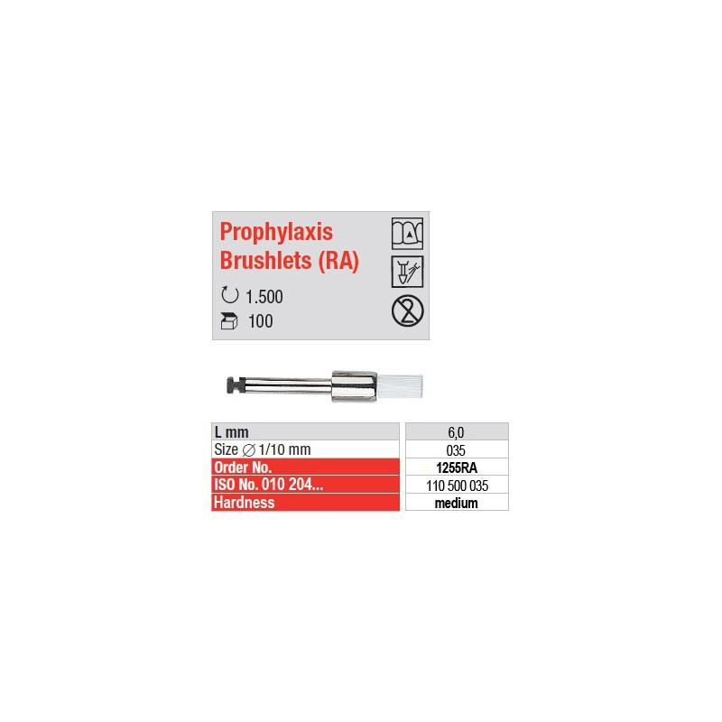 Prophylaxis Brushlets (RA) - medium - 1255RA