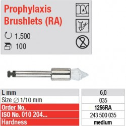 Prophylaxis Brushlets (RA) - medium - 1256RA