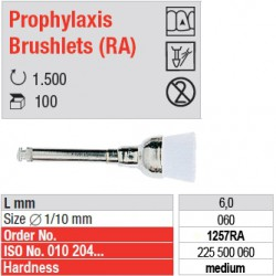 Prophylaxis Brushlets (RA) - medium - 1257RA