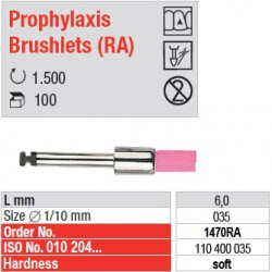 Prophylaxis Brushlets (RA) - soft - 1470RA