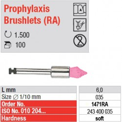 Prophylaxis Brushlets (RA) - soft - 1471RA